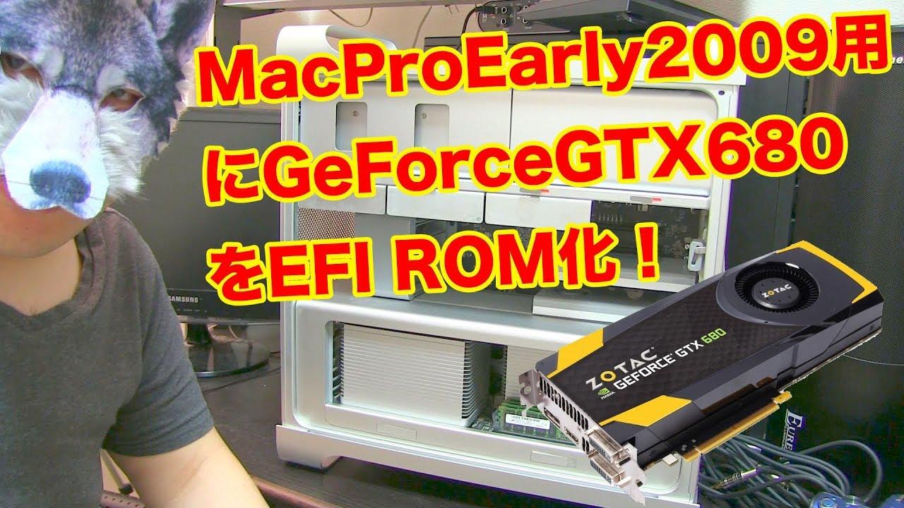 Gtx 680 mac pro 3.1