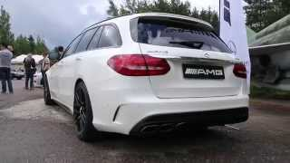 Mercedes-Benz C63 AMG Estate 2015 Videos