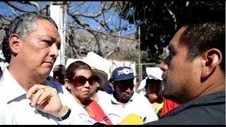 Estalla Zacualpan: habitantes paralizan bombas de agua y gobierno ordena desalojo PARTE 1