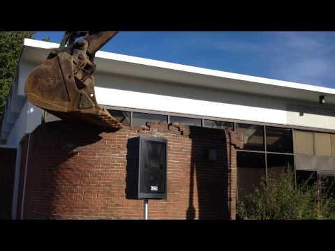TD Bank demolition