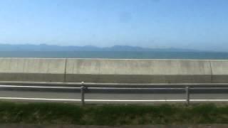 【車窓】肥薩おれんじ鉄道(肥後二見~上田浦)