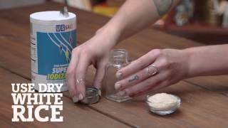 Shake It Up: No-Clump Salt Shaker