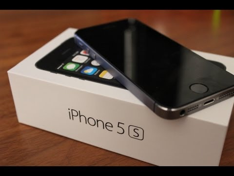 iPhone 5s Unboxing and First Impressions(HD)