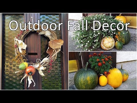 Fall Porch Decor | Decorate With Me