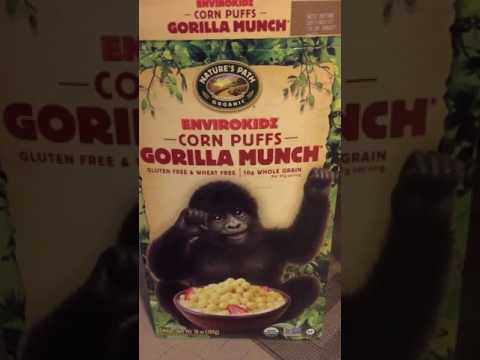 Gorilla Munch Cereal Review