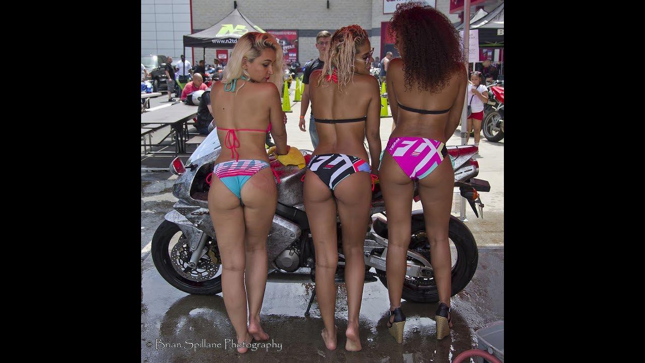 wash Bike bikini