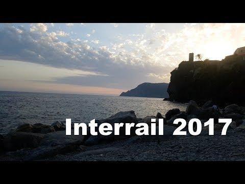Interrail Italy 2017 | travel by train - sleep on the beach | PART 2
