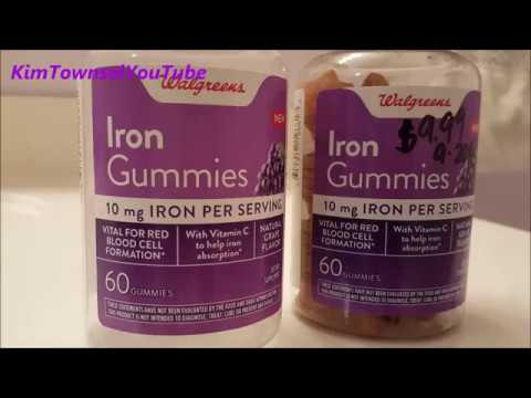 Iron Gummies from Walgreens Review by Kim Townsel