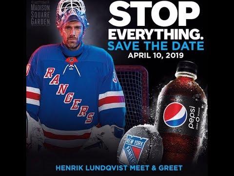 The Henrik Lundqvist Blog Henrik Lundqvist Pepsi Meet And Greet