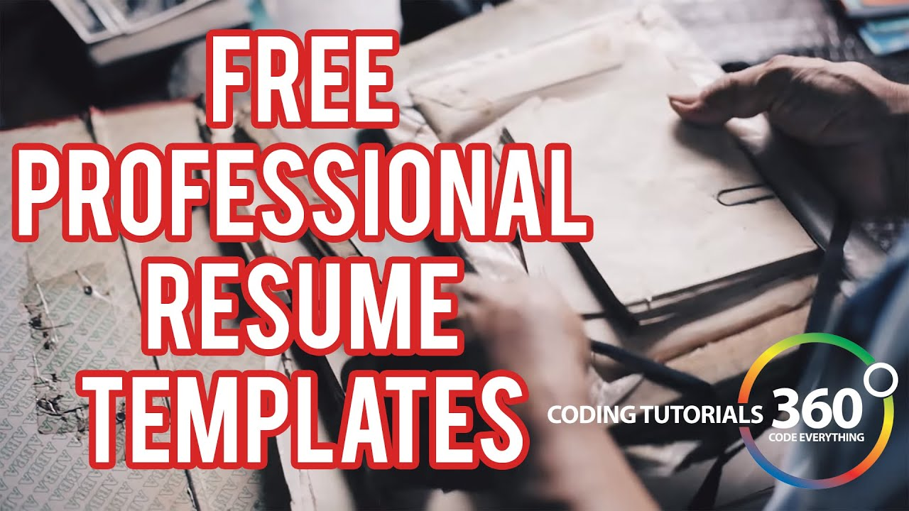 Free Resume Templates Done Fast And Easy - Novoresume Website Review -  Youtube