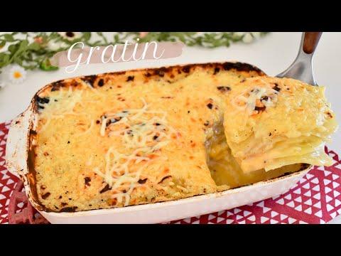gratin-de-pommes-de-terre-au-fromage-facile-&-rapide-🧀-recette-sauce-béchamel