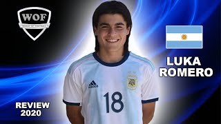 LUKA ROMERO | Wonderkid Compared To Messi | Crazy Goals & Skills 2020 (HD)