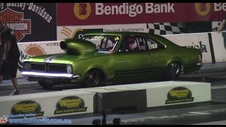 Drag Racing compilation QRDC 15.3.2014 Willowbank Raceway Cars and Bikes(unedited)