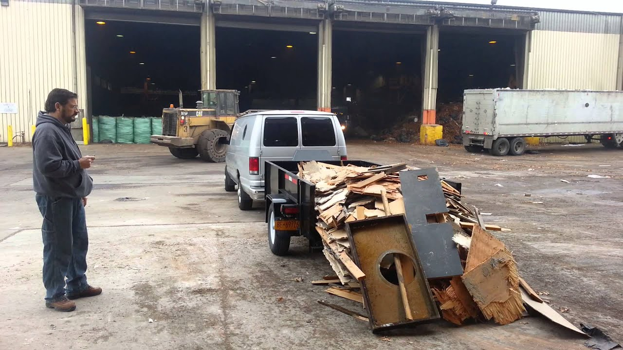 how to build a dumping utility trailer