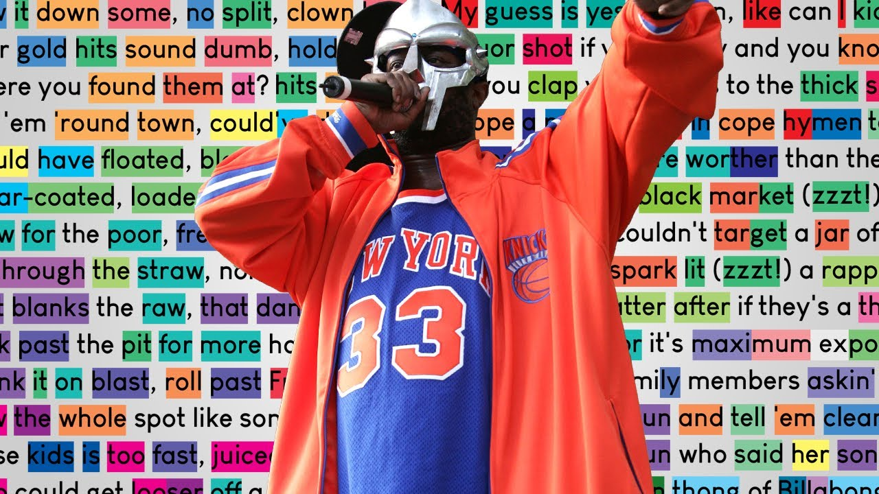MF DOOM on November Has Come | Rhymes Highlighted