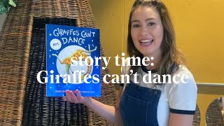 Giraffes Can't Dance by Giles Andreae  | Story time | Read along at home with Maggie & Rose
