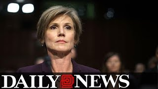 Sally Yates Rips Jeff Sessions For Criminal Justice Reform Stance