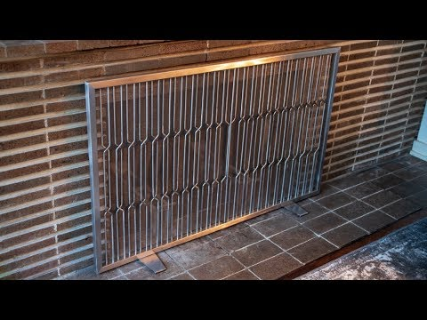 How to Make a Fireplace Screen // Weld Stainless