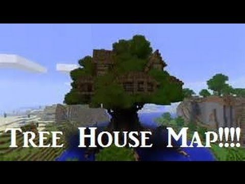 Minecraft xbox 360 amazing treehouse map w download youtube House map online free