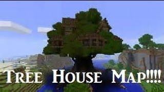 Minecraft Xbox 360 Amazing Treehouse map/W DOWNLOAD