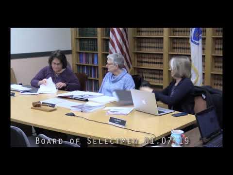 Board of Selectmen 01.07.19