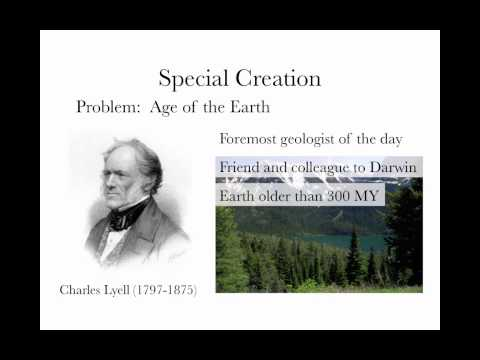 History of Evolutionary Thought 1
