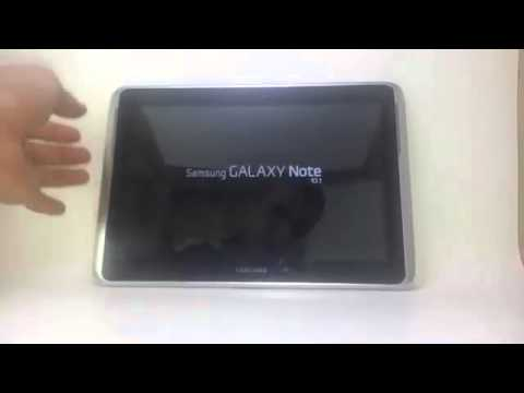 Galaxy Note 10.1 - Hard (Factory) Reset GT-N8010