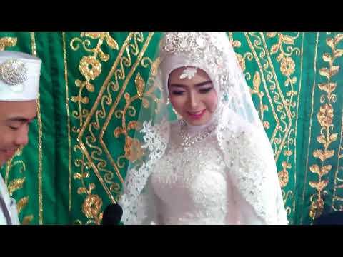 Pernikahan Hendri Gunawan dan Selvia Juliarti.