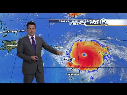 Hurricane Irma update 9/5/17 - 2pm