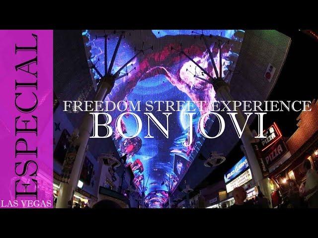 Freedom Street Experience Bon jovi #LasVegas #Travel #SOMOS4PORLEMUNDO