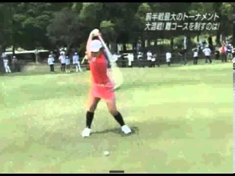 横峯さくらプロはオーバースイングじゃない!! - YouTube