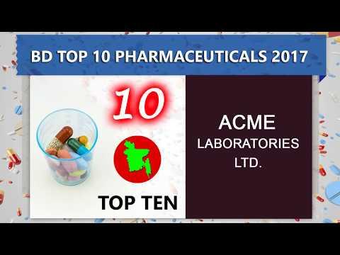 Top 10 Pharmaceutical Companies in Bangladesh || List of largest pharmaceutical companies by revenue