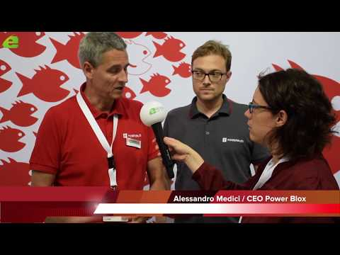 PowerBlox Einzigartige Technik: Zeitung E&M im Gespräch CEO Alessandro Medici | E&M TV - News