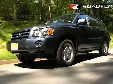2007 toyota highlander car review youtube. Black Bedroom Furniture Sets. Home Design Ideas