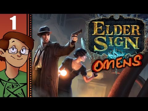 Let's Play Elder Sign: Omens Part 1 - Nostalgic Tabletop Gameplay Hidden Behind Clunky Interface