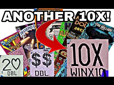 ANOTHER 10X WIN! HUGE $300 SESSION! Spending $300 On Texas Lottery Tickets
