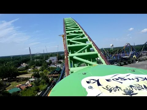 Kingda Ka Front Seat POV 2015 FULL HD Six Flags Great Adventure