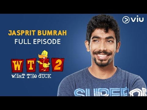Jasprit Bumrah on What The Duck Season 2 | FULL EPISODE | Vikram Sathaye | WTD 2 | Viu India