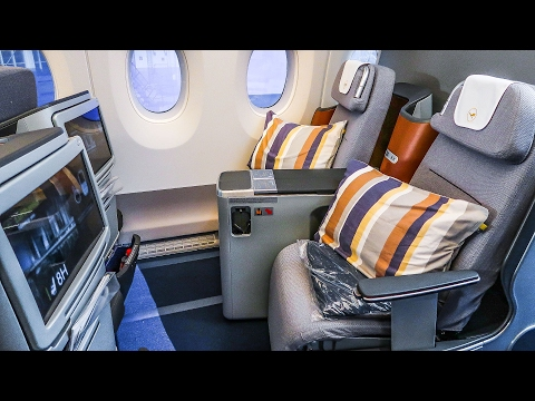 THE CABIN of the new A350-900XWB of LUFTHANSA | Seat Review: Economy / Premium Economy / Business