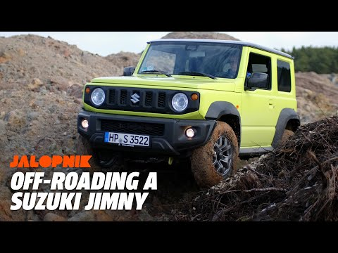 Off-Roading A 2018 Suzuki Jimny