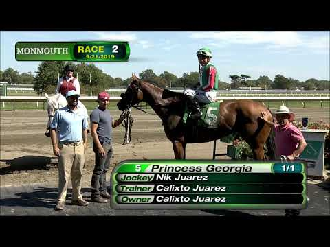 video thumbnail for MONMOUTH PARK 9-20-19 RACE 2