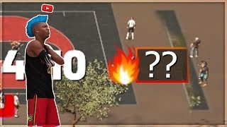 I PULLED UP ON THE BIGGEST STREAK ON THE NEW 1V1 COURT IN NBA 2K19..