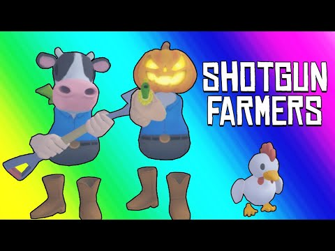 Shotgun Farmers Funny Moments - Fighting for Custody on Halloween!