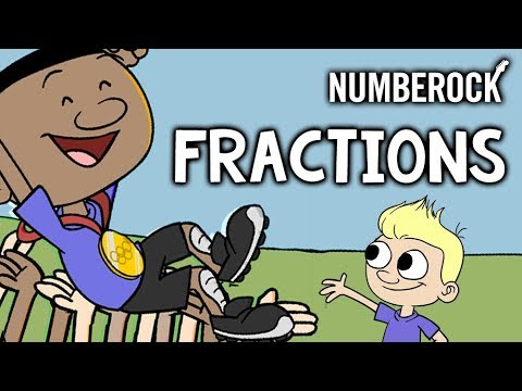 Fractions Song For Kids | 2nd - 4th Grade | NUMBEROCK