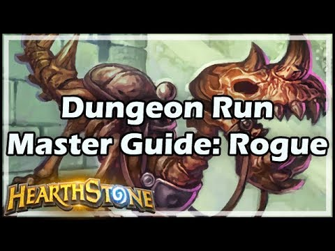 [Hearthstone] Dungeon Run Master Guide: Rogue