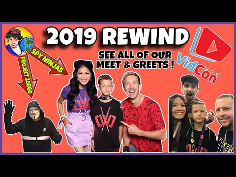 VIDCON 2019 REWIND | VIDCON TIPS | REACTION TO OUR MEET & GREETS!