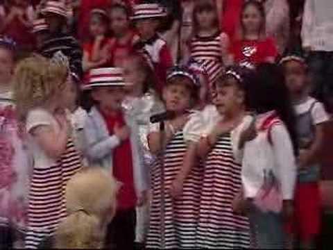 Kindergarten Patriotic Concert-
