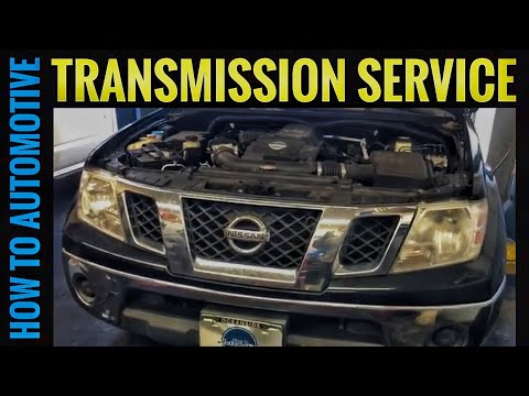 How to Perform a Transmission Service on a 2005-2013 Nissan Frontier