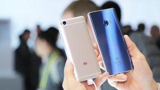 Быстрый обзор смартфона Xiaomi Mi 5s на выставке CES