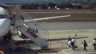 Despedida no aeroporto de Goiânia